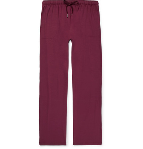 Factory Outlet For Sale Sale Low Shipping Fee Basel Stretch-micro Modal Pyjama Trousers Derek Rose Discount Fashion Style yqpMErpx