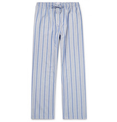 Derek Rose Artic Striped Cotton Pyjama Trousers