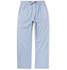 Derek Rose Barker Puppytooth Cotton Pyjama Trousers