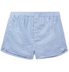 Derek Rose Barker Puppytooth Cotton Boxer Shorts