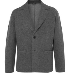 Berluti - Slim-Fit Charcoal Cashmere and Wool-Blend Blazer