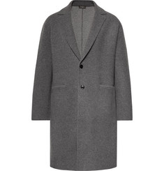 Berluti Unstructured Wool and Cashmere-Blend Overcoat