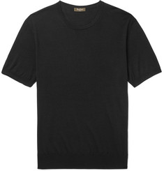 Berluti Knitted Wool T-Shirt