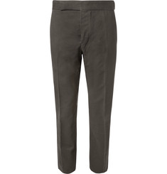 Berluti Slim-Fit Cotton-Twill Trousers