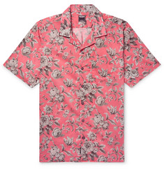 Todd Snyder + Liberty Camp-Collar Printed Cotton-Voile Shirt