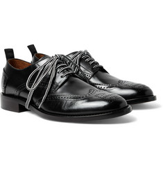 Givenchy - Leather Wingtip Brogues