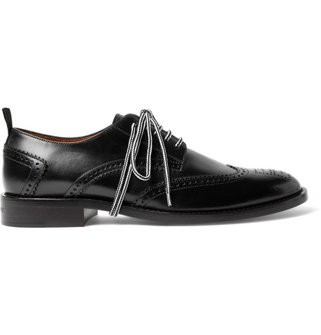 GIVENCHY LEATHER WINGTIP BROGUES