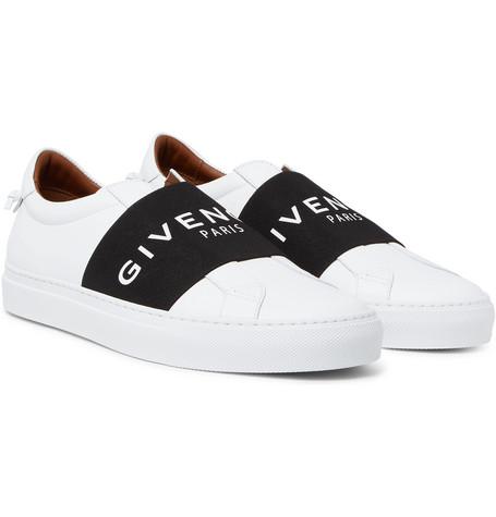 Urban Street Leather Slip-on Sneakers