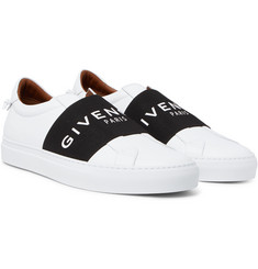 Givenchy - Urban Street Leather Slip-On Sneakers