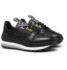 Givenchy - TR3 Leather and Shell Sneakers