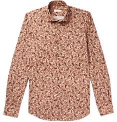 Incotex - Slim-Fit Floral-Print Cotton Shirt