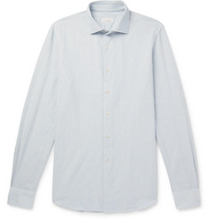Incotex Ween Slim-Fit Cutaway-Collar Cotton Shirt