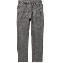 Incotex - Slim-Fit Virgin Wool and Cotton-Blend Trousers