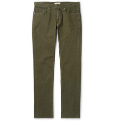 Incotex - Slim-Fit Stretch-Cotton Corduroy Trousers