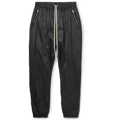 Rick Owens Tapered Shell Drawstring Trousers