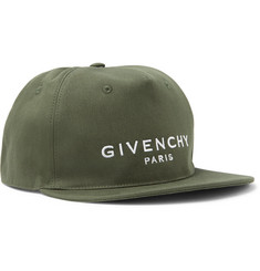 Givenchy - Logo-Embroidered Cotton-Twill Baseball Cap