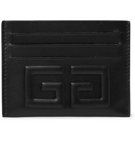 Embossed Full Grain Leather Cardholder by Givenchy