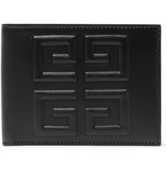Givenchy Logo-Embossed Full-Grain Leather Billfold Wallet