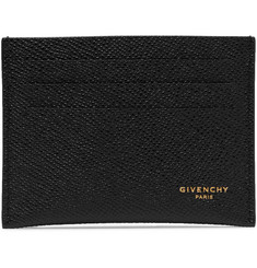 Givenchy Eros Pebble-Grain Leather Cardholder