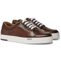 Berluti Playtime Leather Sneakers