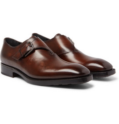 Berluti - Leather Monk-Strap Shoes