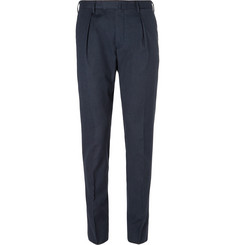 Incotex Slim-Fit Puppytooth Stretch-Cotton Trousers