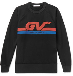 Givenchy - Printed Loopback Cotton-Jersey Sweatshirt