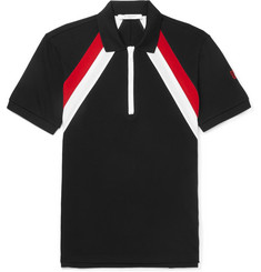 Givenchy Slim-Fit Striped Cotton-Piqué Polo Shirt