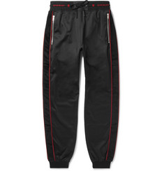 Givenchy - Logo-Trimmed Fleece-Back Jersey Drawstring Sweatpants