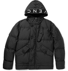 Givenchy Logo-Trimmed Quilted Shell Hooded Jacket