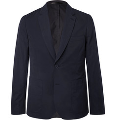 Paul Smith Midnight-Blue Soho Slim-Fit Cotton Suit Jacket