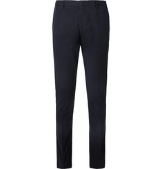 Paul Smith Midnight-Blue Soho Slim-Fit Cotton Suit Trousers