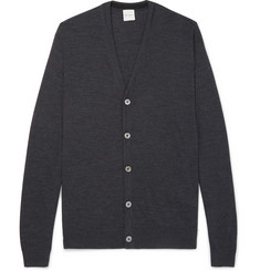 Paul Smith Mélange Merino Wool Cardigan