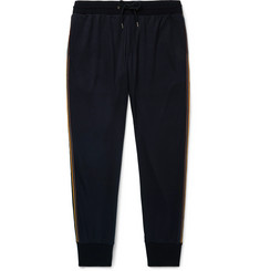 Paul Smith Tapered Striped Wool-Jersey Sweatpants