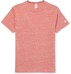 Todd Snyder + Champion Mélange Slub Cotton-Blend Jersey T-Shirt