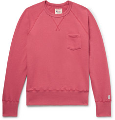 Todd Snyder + Champion Slim-Fit Loopback Cotton-Jersey Sweatshirt