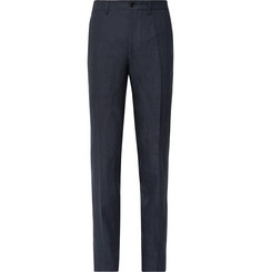 Rubinacci Luca Slim-Fit Slub Linen Trousers