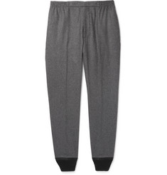 Alexander McQueen Tapered Virgin Wool-Flannel Trousers
