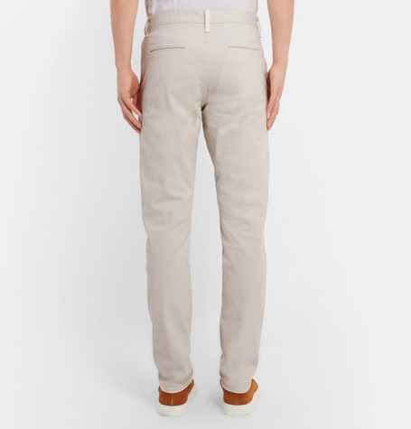 Fit 2 Slim Fit Garment Dyed Stretch Cotton Twill Chinos by Rag &Amp; Bone