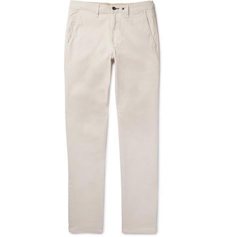 Fit 2 Slim-fit Garment-dyed Stretch-cotton Twill Chinos Rag & Bone RK6xhz