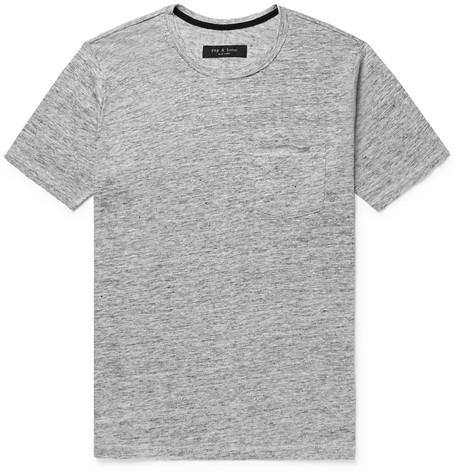Owen Slub Linen-jersey T-shirt Rag & Bone Wiki Online vSyRUI