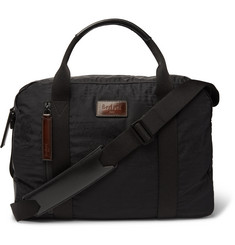 Berluti Evasion Leather-Trimmed Jacquard and Ripstop Holdall