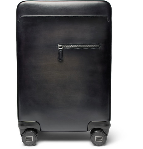 Formula 1004 Leather Carry-on Suitcase