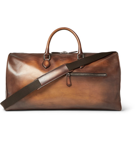 Jour Off Gm Leather Holdall by Mr Porter