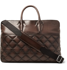 Berluti Cube Quilted Leather Holdall