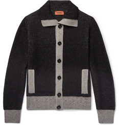 Missoni Contrast-Trimmed Wool Cardigan