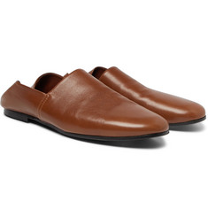 Sandro Collapsible-Heel Leather Loafers