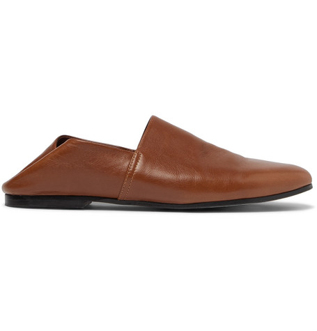 Collapsible-heel Leather Loafers Sandro j5d0RT