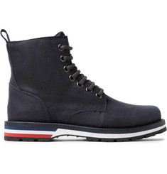 Moncler New Vancouver Suede and Shell Boots