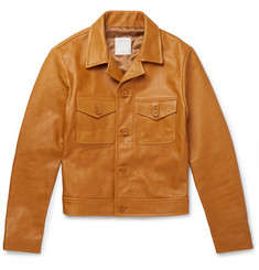 Sandro - Slim-Fit Leather Jacket